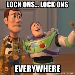 Anonymous, Anonymous Everywhere - Lock ons... Lock ons Everywhere