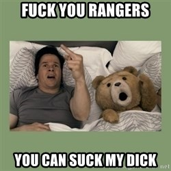 Ted Movie - FUck you rangers you can suck my dick