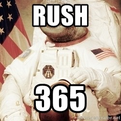 space sloth - Rush 365