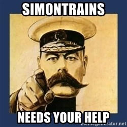 your country needs you - Sim0nTrains needs your help
