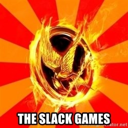 Typical fan of the hunger games -  The Slack Games