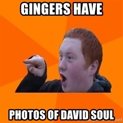 CopperCab Points - gingers have photos of David soul