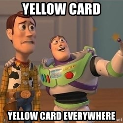 Anonymous, Anonymous Everywhere - Yellow card Yellow card everywhere