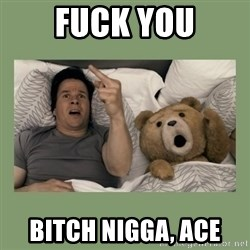 Ted Movie - Fuck You Bitch Nigga, Ace