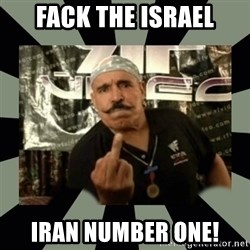 Iron Sheik - FACK THE ISRAEL IRAN NUMBER ONE!