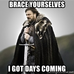 ned stark as the doctor - Brace yourselves i got days coming