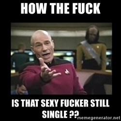 Patrick Stewart 101 - How the fuck is that sexy fucker still single ??