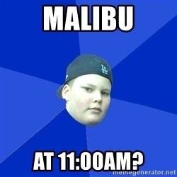 Jonnen Neuvo - MALIBU AT 11:00AM?