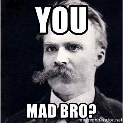 Nietzsche - You mad bro?