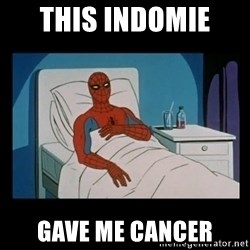 it gave me cancer - this indomie  gave me cancer