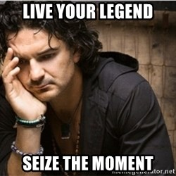 Ricardo Arjona - Live your legend Seize the moment