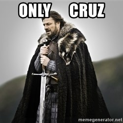 ned stark as the doctor - Only      Cruz