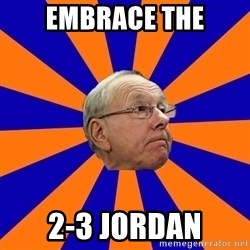 Jim Boeheim - Embrace the 2-3 Jordan