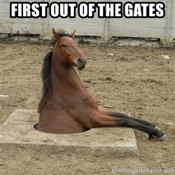 Hole Horse - FIRST OUT OF THE GATES