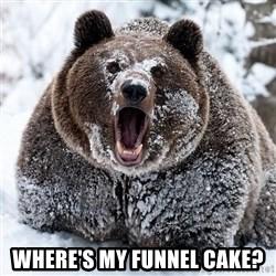 Clean Cocaine Bear -  Where's My Funnel Cake?