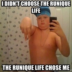 Swagmaster - I didn't choose the Runique life The Runique life chose me