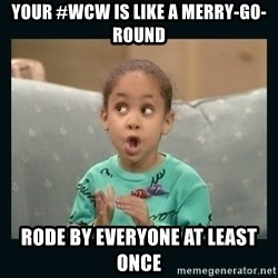 Raven Symone - Your #wcw is like a merry-go-round rode by everyone at least once