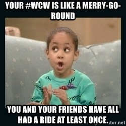Raven Symone - Your #wcw is like a merry-go-round You and your friends have all had a ride at least once.