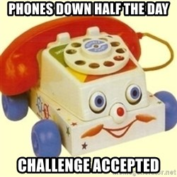 Sinister Phone - Phones down half the day Challenge accepted