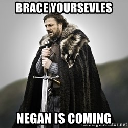 ned stark as the doctor - Brace yoursevles Negan is coming