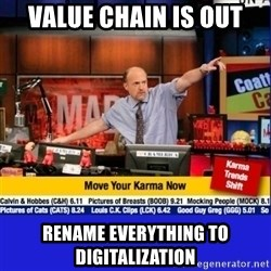 Move Your Karma - Value Chain is out Rename everything to Digitalization