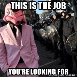 stormtrooper - THIS IS THE JOB YOU'RE LOOKING FOR