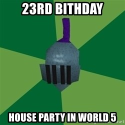 Runescape Advice - 23rd Bithday House party in world 5