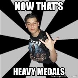 Metal Boy From Hell - Now that's  Heavy Medals