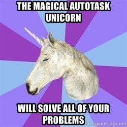 ASMR Unicorn - The Magical Autotask Unicorn  will solve all of your problems