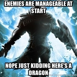 Dark Souls Dreamagus - Enemies are manageable at start Nope just kidding here's a dragon