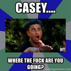 jersey shore - CASEY.... WHERE THE FUCK ARE YOU GOING?