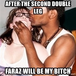 Scared White Girl - After the second double leg Faraz will be my bitch
