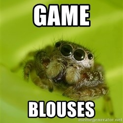 The Spider Bro - GAME Blouses