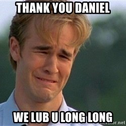Thank You Based God - Thank you daniel We lub u long long