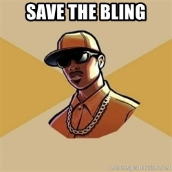 Gta Player - Save the bling