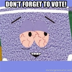 Towelie - Don't forget to vote!