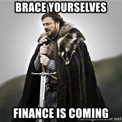 ned stark as the doctor - brace yourselves Finance is coming