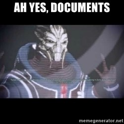 Ah, Yes, Reapers - Ah Yes, Documents