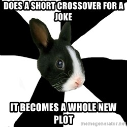 Roleplaying Rabbit - DOES A SHORT CROSSOVER FOR A JOKE IT BECOMES A WHOLE NEW PLOT