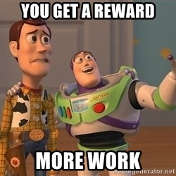 Anonymous, Anonymous Everywhere - you get a reward more work