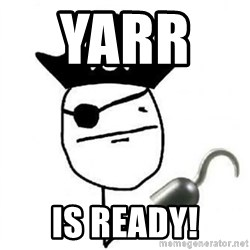 Poker face Pirate - Yarr     is ready!