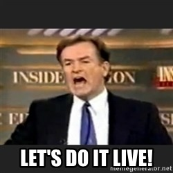 Angry Bill O'Reilly -  Let's do it live!
