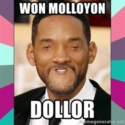 woll smoth - won molloyon  dollor