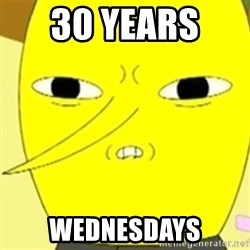 LEMONGRAB - 30 YEARS  WEDNESDAYs