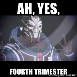 Ah, Yes, Reapers - Ah, yes, Fourth trimester