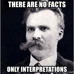Nietzsche - There are no facts Only interpretations