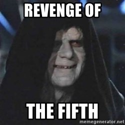 Sith Lord - Revenge of the Fifth