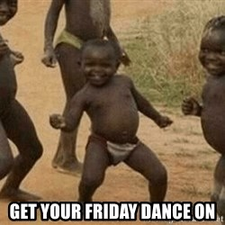 Success African Kid -  Get your Friday dance on