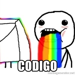 Puking Rainbows -  codigo