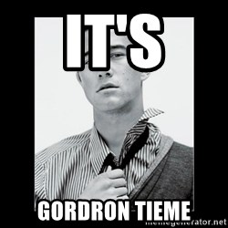 Hey Girl (Joseph Gordon-Levitt) - it's GORDRON TIEME